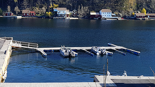 Båtplass og parkeringsplass